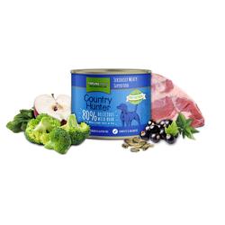 (5,97 EUR/kg) Natures Menu Country Hunter 80% Wildschwein 600 g - 6 Stück