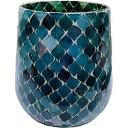 Windlicht (1 Stück), im Mosaikdesign, Höhe ca. 14,5 cm