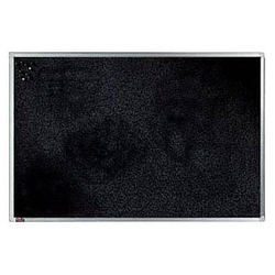 dots Pinnwand 120,0 x 90,0 cm Textil schwarz