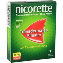 NICORETTE TX Pflaster 15 mg 7 St