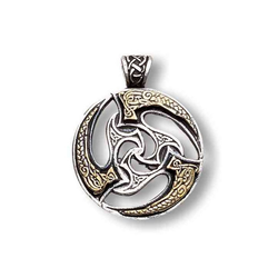 Adelia´s Amulett Nordische Lichter Talisman, Sonnenrad - Reichtum und Erfolg