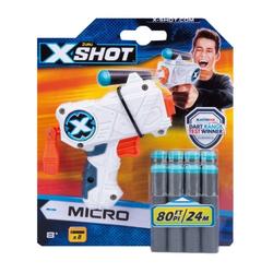 ZURU Blaster X-Shot - Micro - Blaster mit 8 Darts