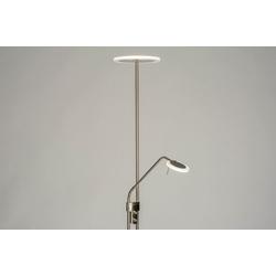 Stehleuchte Modern Edelstahl Kunststoff Kunststoffglas Metall 73199