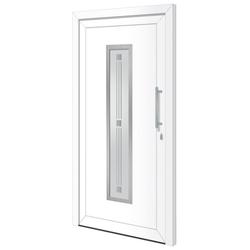 RORO Türen & Fenster Haustür Otto 7, BxH: 100x210 cm, weiß, ohne Griff