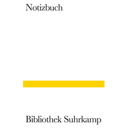 Bibliothek Suhrkamp Notizbuch 2016
