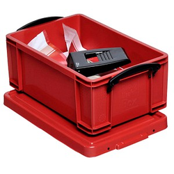 Really Useful Box Aufbewahrungsbox 9,0 l rot 39,5 x 25,5 x 15,5 cm