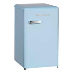 Wolkenstein Kühlschrank KS95RT LB KS95RT LB, 87.1 cm hoch, 50.6 cm breit, Standkühlschrank 88 Liter Retro-Design blau