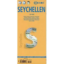 Borch Map Seychellen / Seychelles - Buch