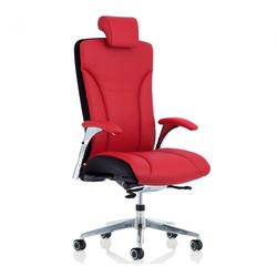 Köhl Salveo Büro Stuhl Leder mit Kopfstütze