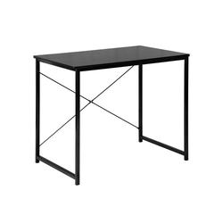 Woltu Schreibtisch, Schreibtisch im Desktop Design schwarz