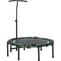 HOMCOM Fitness-Trampolin für Kinder und Erwachsene 122 x 138 cm (ØxH)   Gartentrampolin Kindertrampolin Trainingstrampolin