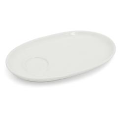 Walküre Porzellan Tortenplatte Tablett mit 1 Spiegel, 24cm Alta Weiß Walküre Porz