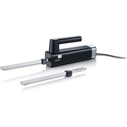 Graef Elektromesser EK 502 mit 2 Messern, schwarz, 150 W