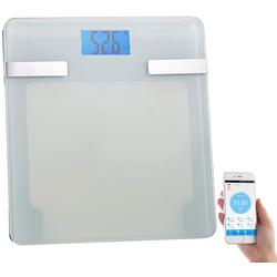6in1-Körperanalysewaage mit Bluetooth 4.0, App für Android & iOS