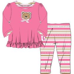 Baby Born Kleider Kollektion Dolly Moda Pyjama, Größe 38-46cm 870075