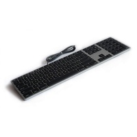 Matias Aluminium Mac Tastatur DE spacegrau (FK318B-DE)