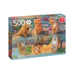 Jumbo Spiele Puzzle Puzzles bis 500 Teile JUMBO-18850, Puzzleteile