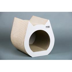 CAT Kratzmöbel Weiß  Katzenbett