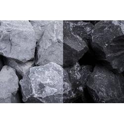 Steinschlag Basalt Stein SS, 30-60, 250 kg Big Bag