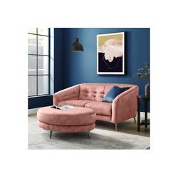 INOSIGN 2-Sitzer Auriol rosa