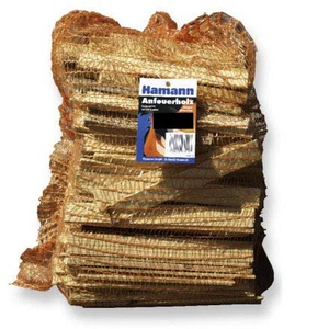 Anfeuerholz 5,0 dm3 reine Holzmasse - eignet sich ideal zum Anfeuern von Holzbriketts oder Brennholz in Ihrem Kamin oder Ofen.