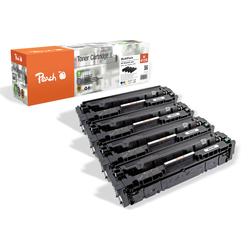 Peach Spar Pack Tonermodule kompatibel zu HP No. 415X, W2030X, W2031X, W2032X, W2033X
