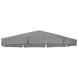 sungarden Ersatzschirmbespannung, Ø 350 cm, rund grau Sonnenschirme -segel Gartenmöbel Gartendeko Ersatzschirmbespannung