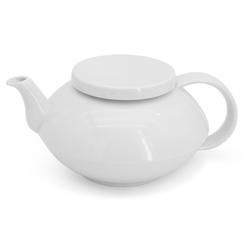 Walküre Porzellan Teekanne Teekanne ohne Rillen, 1,0l THEA Weiß Walküre Porze, 1,0 l, Made in Germany