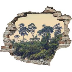 Wandtattoo »Regenwald« (1 Stück), Wandtattoos, 70065105-0 grün 60x0,1x50 cm grün