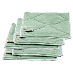 Vorreinigungstuch, Bamboo Fasertuch, Poliertuch 5er Set mit 5 Vorreinigungstücher Bambustuch Putztuch