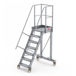Altrex Podesttreppe fahrbar 60° 7 Stufen