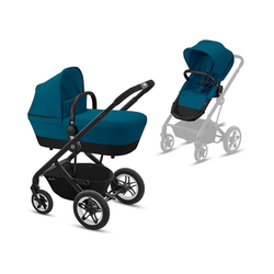 Cybex Kombi-Kinderwagen Kombi Kinderwagen TALOS S, 2in1, Navy Blue/ Navy blau