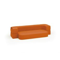 Sitzgarnitur softy, orange