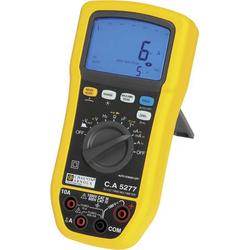 Chauvin Arnoux C.A 5277 Hand-Multimeter digital Spritzwassergeschützt (IP54) CAT III 1000 V, CAT IV