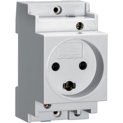 Din rail socket danish std