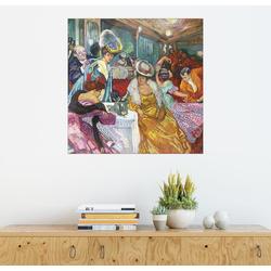Posterlounge Wandbild, Nachtcafé I 70 cm x 70 cm