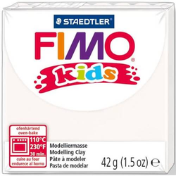 Modelliermasse Fimo Kids weiß 42g