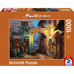 Schmidt Sam Park Gässchen am Comer See Puzzle 1000 Teile