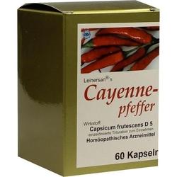 CAYENNEPFEFFER KAPSELN 60 St