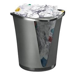 LEITZ Allura Papierkorb 18,0 l schwarz