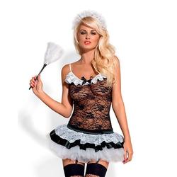 Obsessive Sexy Hausmädchen-Kostüm, 5 Teile