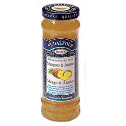St. Dalfour Mango Ananas Fruchtaufstrich Brotaufstrich Konfitüre 280g