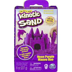 Spin Master Spielsand Kinetischer Sand - verschiedene Farben - 227 g Packung lila