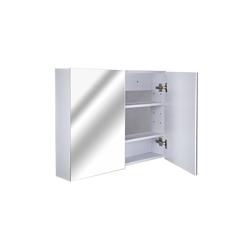 HOMCOM Spiegelschrank Badspiegelschrank zur Wandmontage