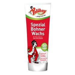 POLIBOY Spezial Bohnerwachs Fußbodenpflege, Wasserfreie Reinigung von Fußböden und Steinoberflächen, 250 ml - Tube