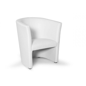 Cocktailsessel Sessel Loungesessel Polstersessel CHARLY Chucky 1-er Weiß weiss