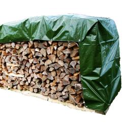 Abdeckplane Holz »Classic« zur Holzabdeckung · 1,5x10m