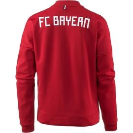 adidas FC Bayern München ZNE Heim-Vereinsjacke true red Herren Gr. S