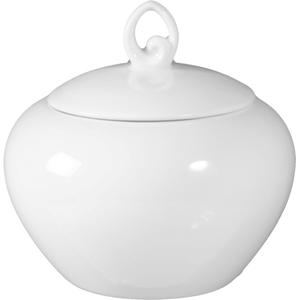 Seltmann Weiden Zuckerdose Rondo Liane in weiß, 0,25 l