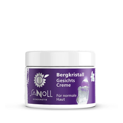Sanoll Bergkristall - Gesichtscreme 30ml